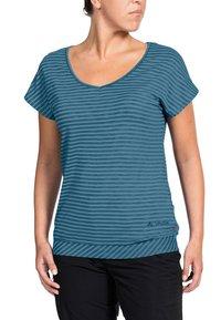 Vaude - SKOMER - Print T-shirt - blue gray - 0