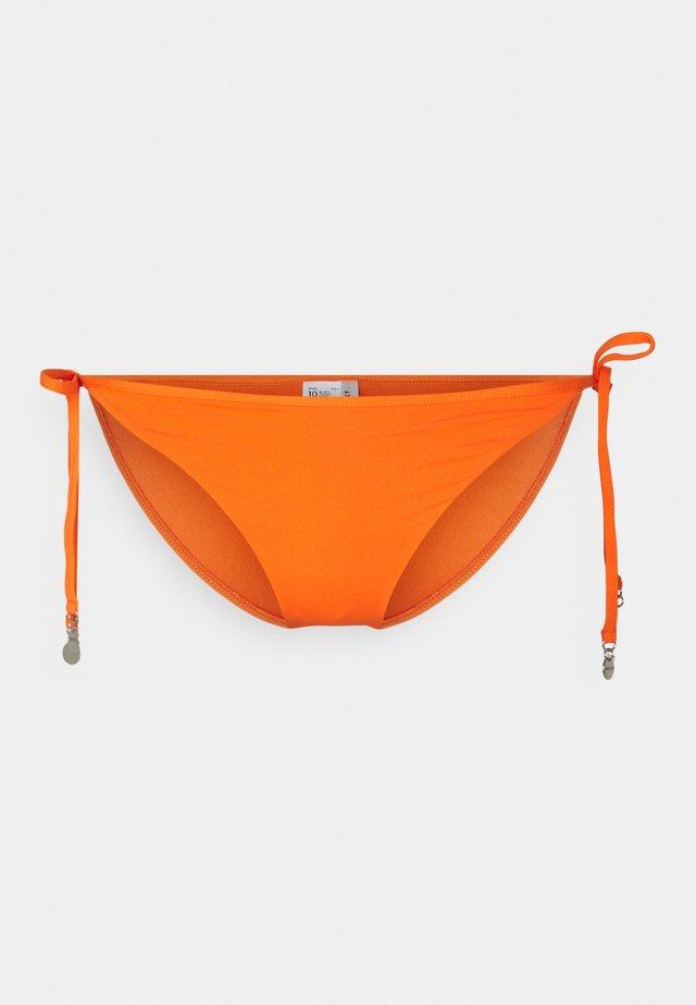 ACTIVE HIPSTER TIE SIDE - Bikini bottoms - spicy orange