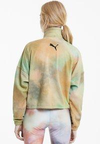 Puma - EVIDE PRINTED - Fleece jacket - puma white - 2