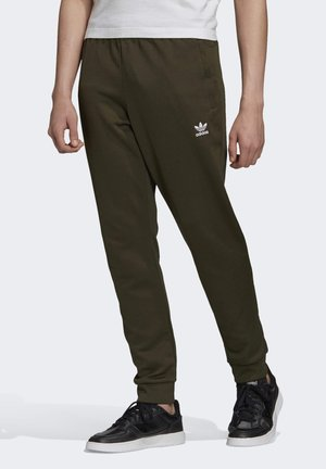 TREFOIL ESSENTIALS TRACKSUIT BOTTOM - Tracksuit bottoms - green