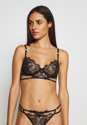 LUMI BRA - Underwired bra - black
