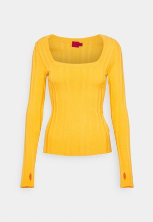 STEFFANY - Jumper - bright yellow