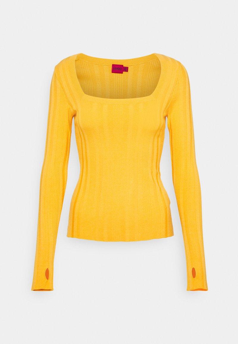 HUGO - STEFFANY - Jumper - bright yellow