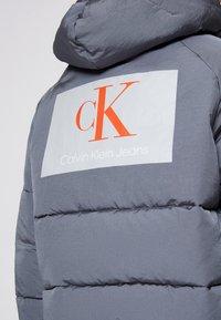 Calvin Klein Jeans - BIG LOGO PUFFER - Winter jacket - shining armor - 6