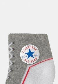 Converse - CHUCK TODDLER 2 PACK UNISEX - Socks - vintage grey - 2