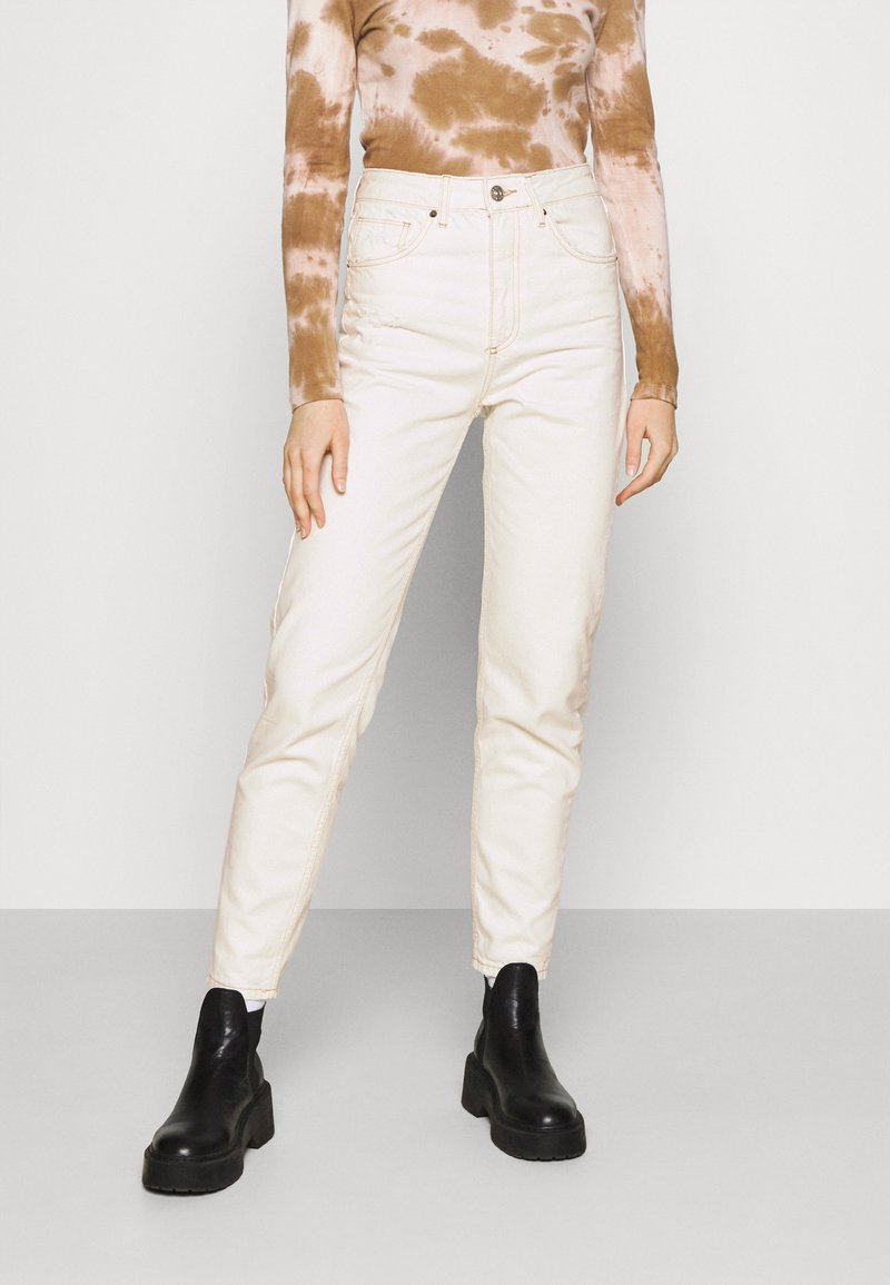 BDG Urban Outfitters - MOM - Džíny Relaxed Fit - off white