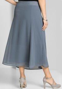 Sheego - A-line skirt - blaugrau - 2