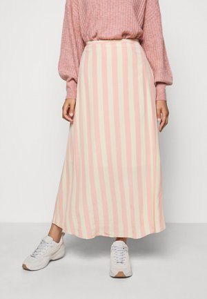 CAROL - A-line skirt - coral cloud