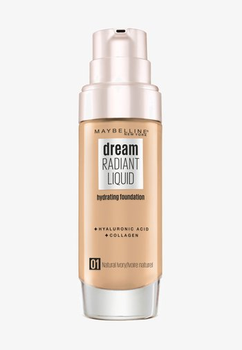 DREAM RADIANT LIQUID MAKE-UP - Foundation - 1 natural ivory