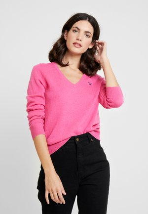 EXTRAFINE V NECK - Strickpullover - love poition