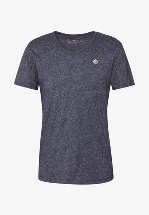 STRUCTURED - Basic T-shirt - sky captain blue / non solid blue
