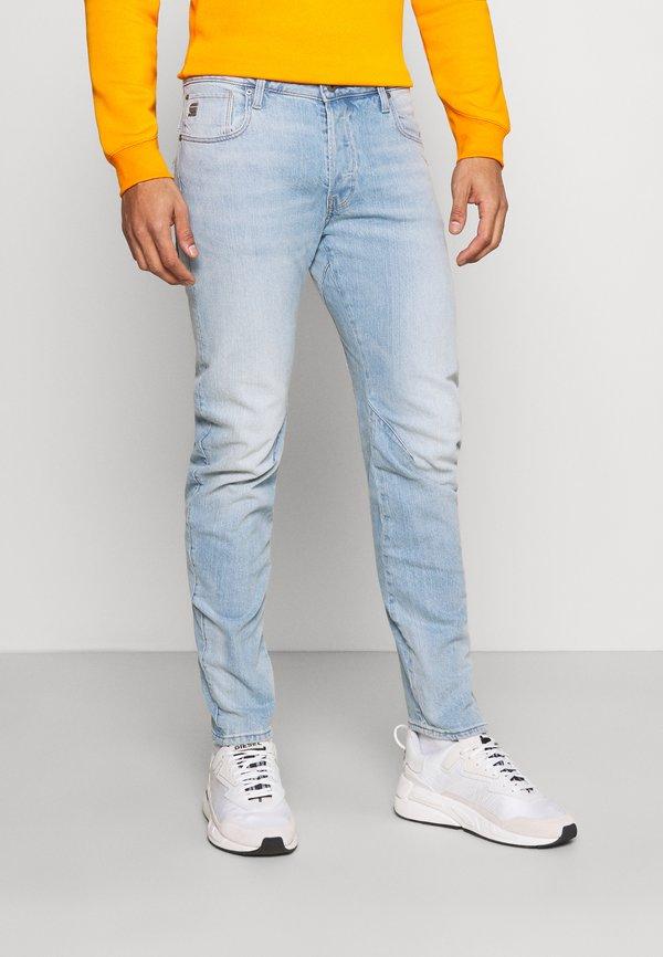 G-Star ARC SLIM - Jeansy Slim Fit - vintage glacial blue/jasnoniebieski Odzież Męska GEEN