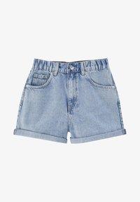 PULL&BEAR - Shorts di jeans - light blue - 5