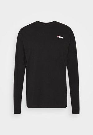 TEDOS TAPE LONG SLEEVE - Maglietta a manica lunga - black
