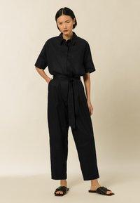 IVY & OAK - ZENZERO - Jumpsuit - black - 0