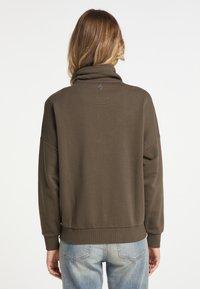 DreiMaster - Zip-up hoodie - militäroliv - 2