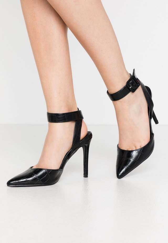 HARMONY - Zapatos altos - black