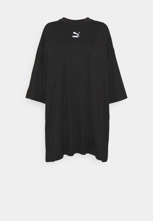 CLASSICS TEE DRESS - Vestito di maglina - black