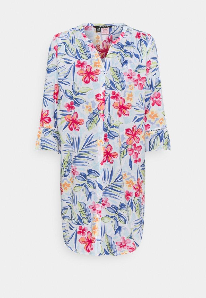 Lauren Ralph Lauren - SHORT NIGHTGOWN  - Nattskjorte - multicolor