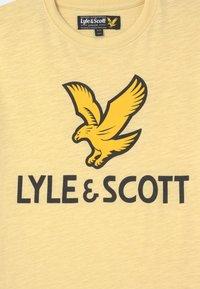 Lyle & Scott - EAGLE LOGO - Print T-shirt - french vanilla - 2