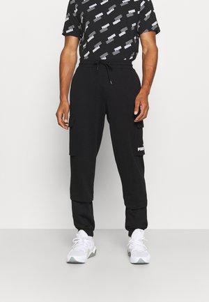POWER PANTS - Teplákové kalhoty - black