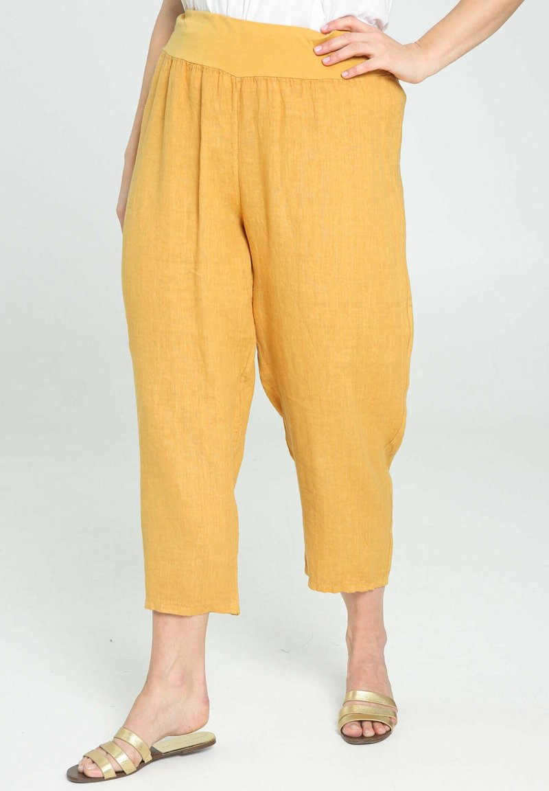 Paprika - Trousers - ocher