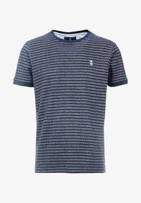 Nerve - NENAF TEE - T-shirts print - navy - 4