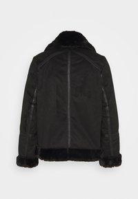 ONLY Petite - ONLJANICE BONDED AVIATOR - Winter jacket - black - 1
