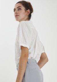 ICHI - IHASILO - Button-down blouse - alloy - 2