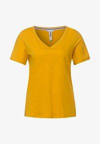 Street One - T SHIRT IM BASIC STYLE - Basic T-shirt - gelb - 3