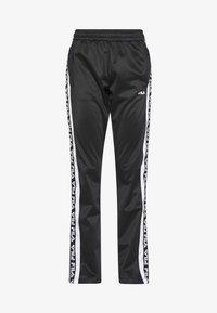 TAO - Teplákové kalhoty - black/bright white