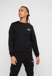 Puma - LOGO CREW - Sweatshirt - black - 0