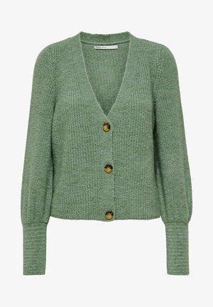 ONLCLARE CARDIGAN - Cardigan - granite green