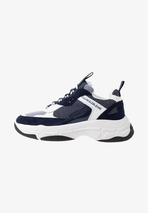 MAYA - Baskets basses - white/navy