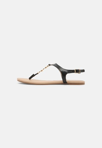 W-CIWI - T-bar sandals - black