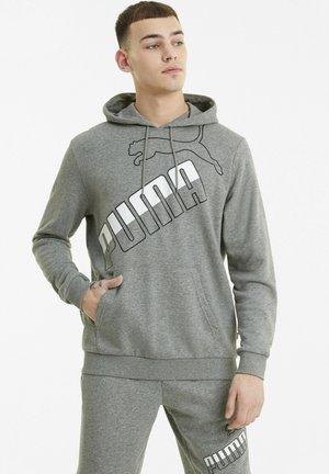 Hoodie - medium gray heather