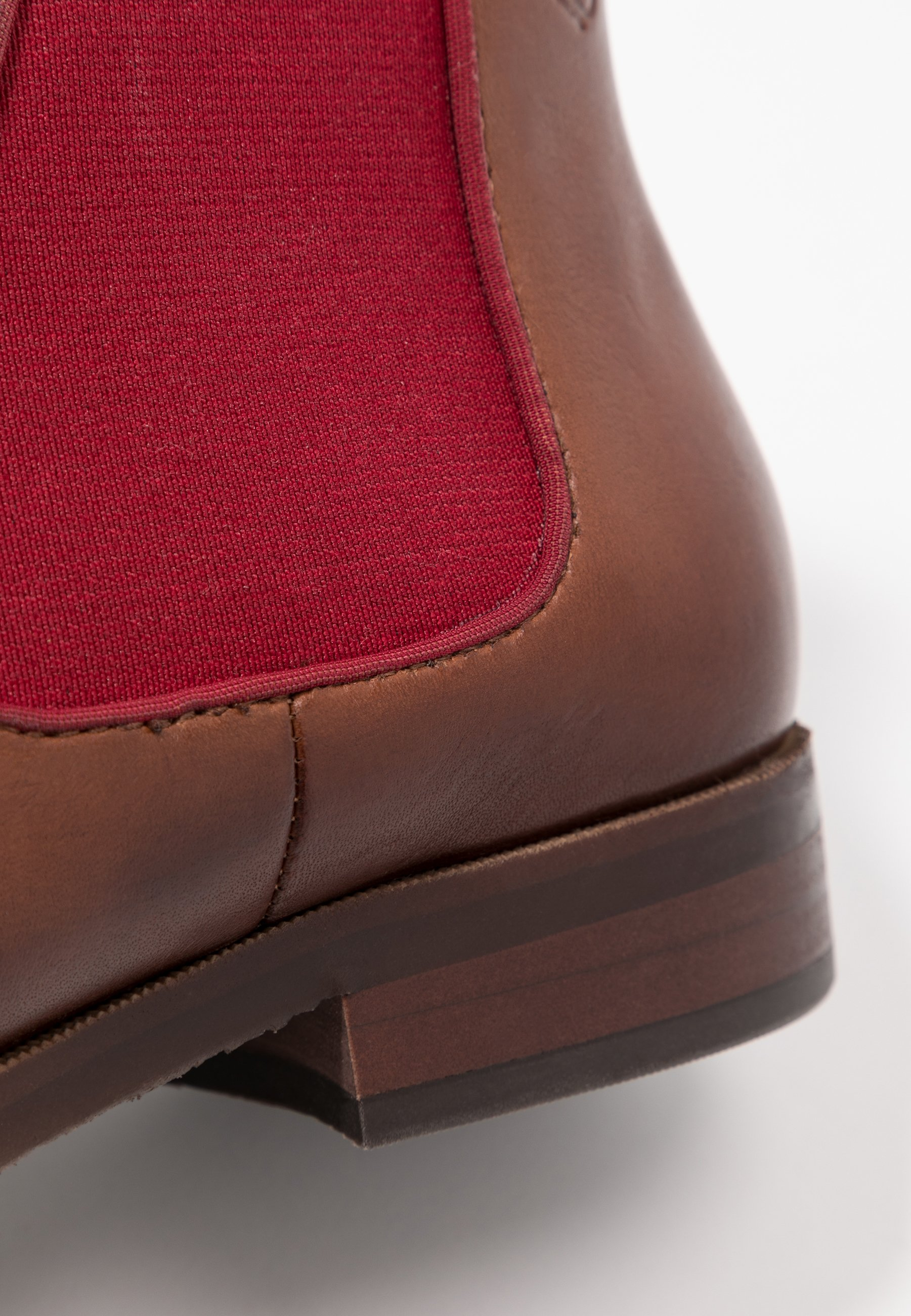 Caprice Ankle Boot cognac/red/cognac