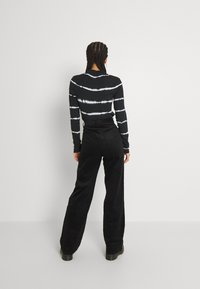 Monki - Trousers - black dark - 2