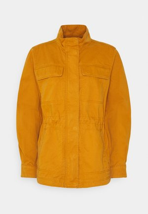 V-CORE UTILITY JACKET SOLID - Summer jacket - tobacco leaf