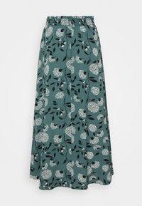 ONLY - ONLNOVA LUX LONG SKIRT  - Maxi skirt - balsam green/white - 1