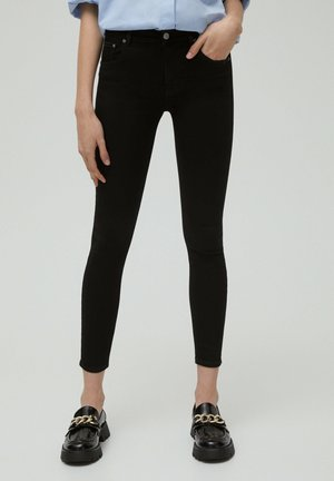 LOW WAIST - Jeans Skinny Fit - black