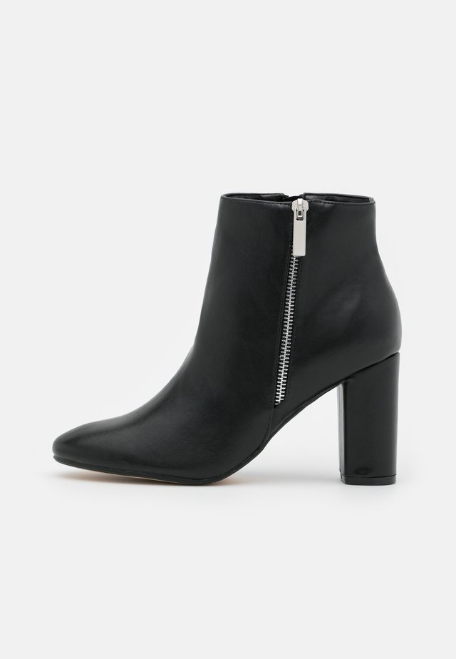 ORIONN - High heeled ankle boots - black
