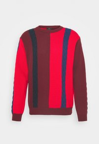 CREW NECK - Pullover - red