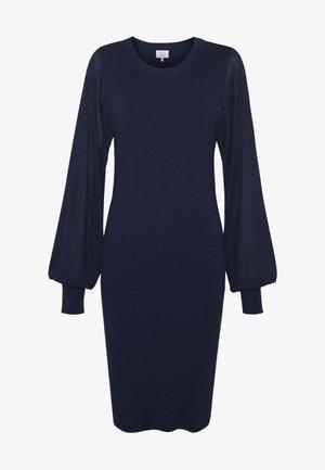 NUESHE DRESS - Strikket kjole - sapphire