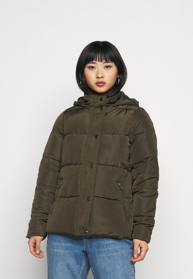 HOODED PADDED  - Giacca invernale - khaki