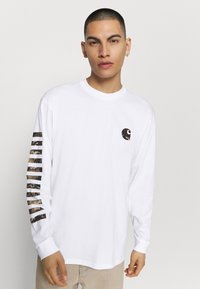 Carhartt WIP - Long sleeved top - white - 0