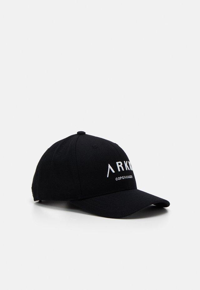 UNISEX - Cap - black/white