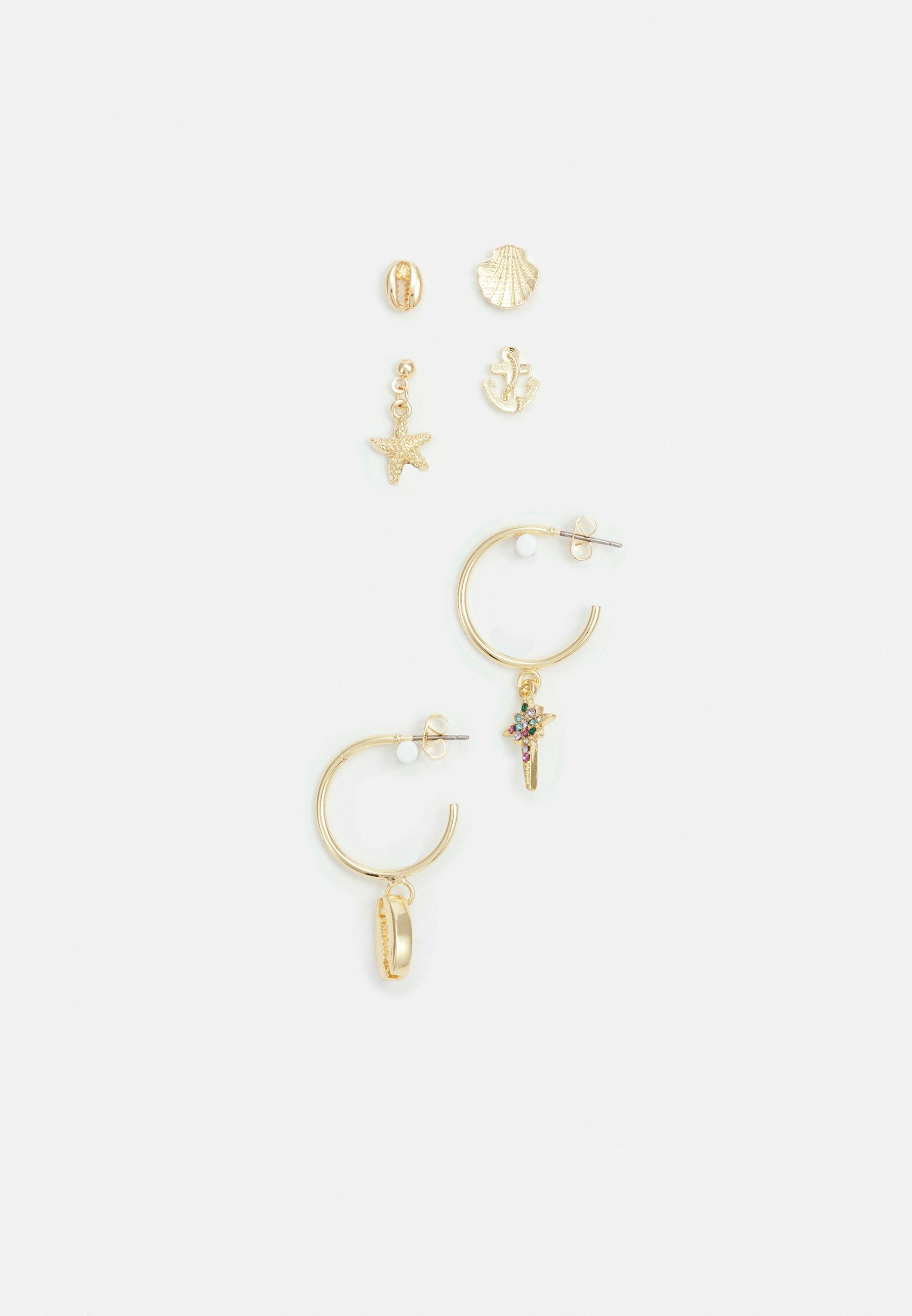 Women PCZAZINA SOLO EARRINGS 3 PACK - Earrings