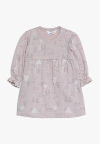 Joha - DRESS A-SHAPE - Jersey dress - light pink - 0