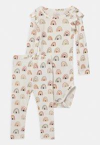 Name it - NBFDAOMI SET - Leggings - Trousers - snow white - 0